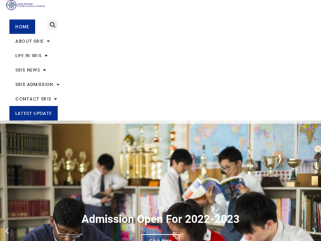 Website Screenshot of Saint Too Sear Rogers International School