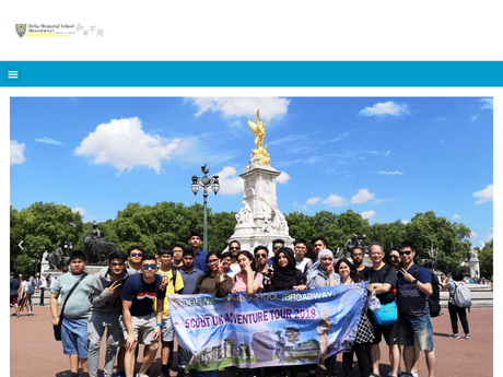 Website Screenshot of Delia Memorial School (Broadway)
