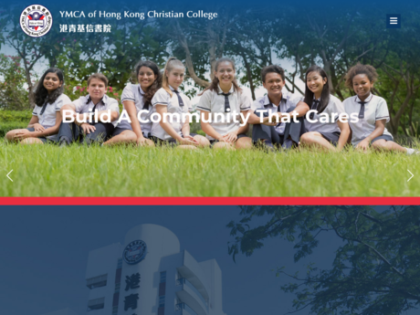 Website Screenshot of YMCA Of Hong Kong Christian College